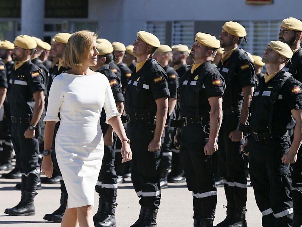 La UME celebra en Torrejón el día de su Patrona