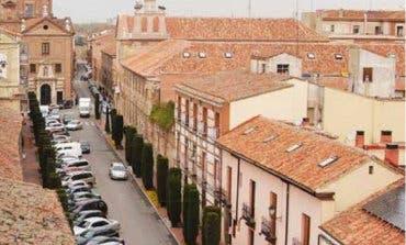 La calle Santa Úrsula de Alcalá permanecerá cortada un mes
