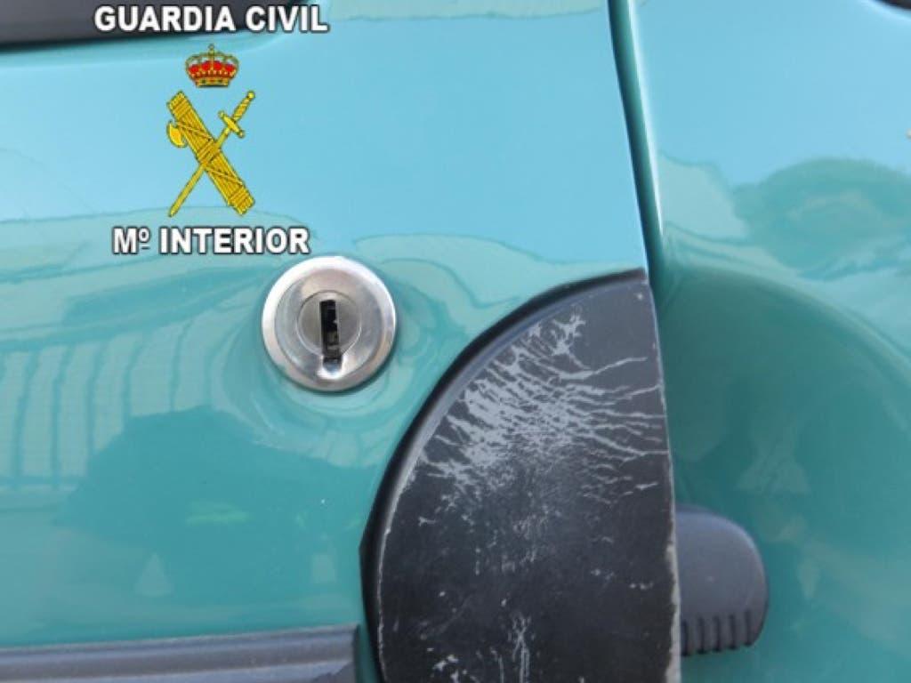 Detenido en Jaén un vecino de Torrejón por robar en el interior de vehículos