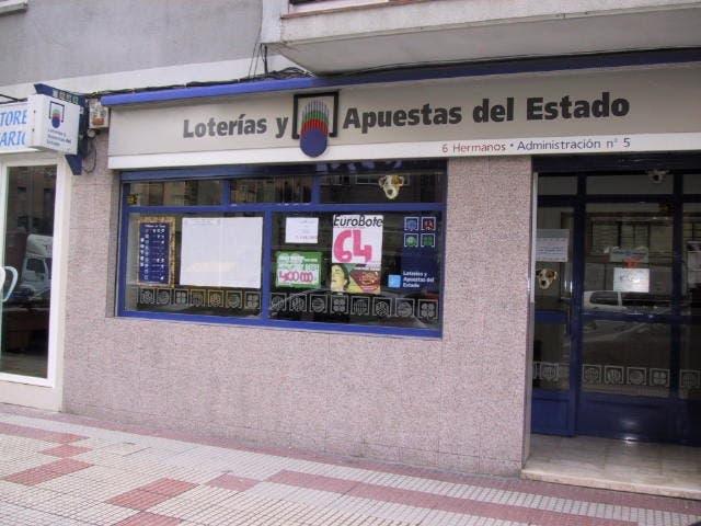 Vendido en Torrejón el Primer Premio del sorteo especial de la Lotería Nacional