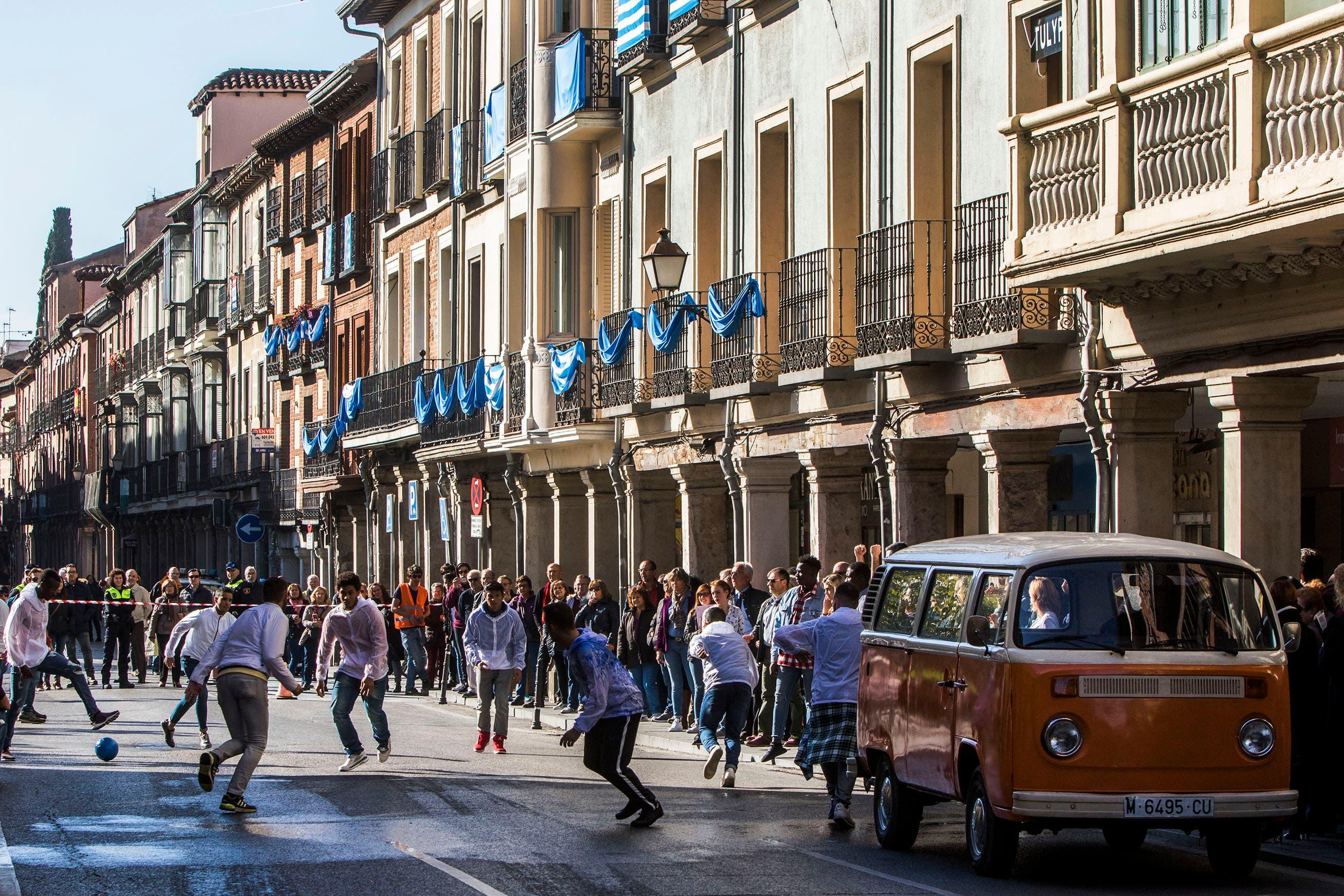 Calle Mayor Rodaje