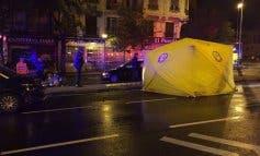 Herido muy grave un joven en un accidente de moto en Madrid