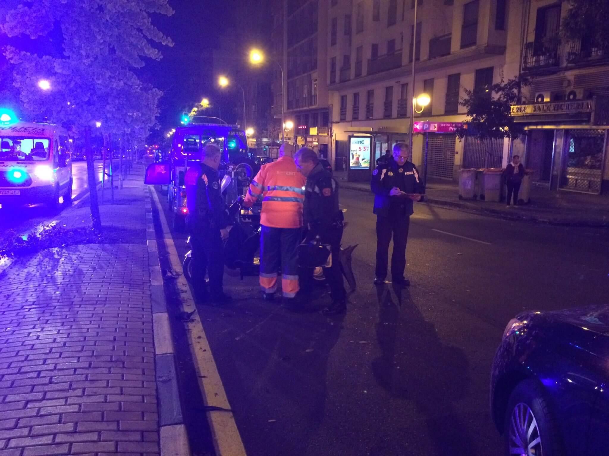 Imágenes de Emergencias Madrid.