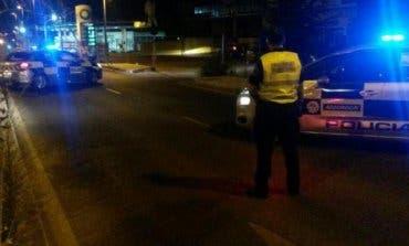 Detenido un conductor ebrio tras embestir a un coche de Policía
