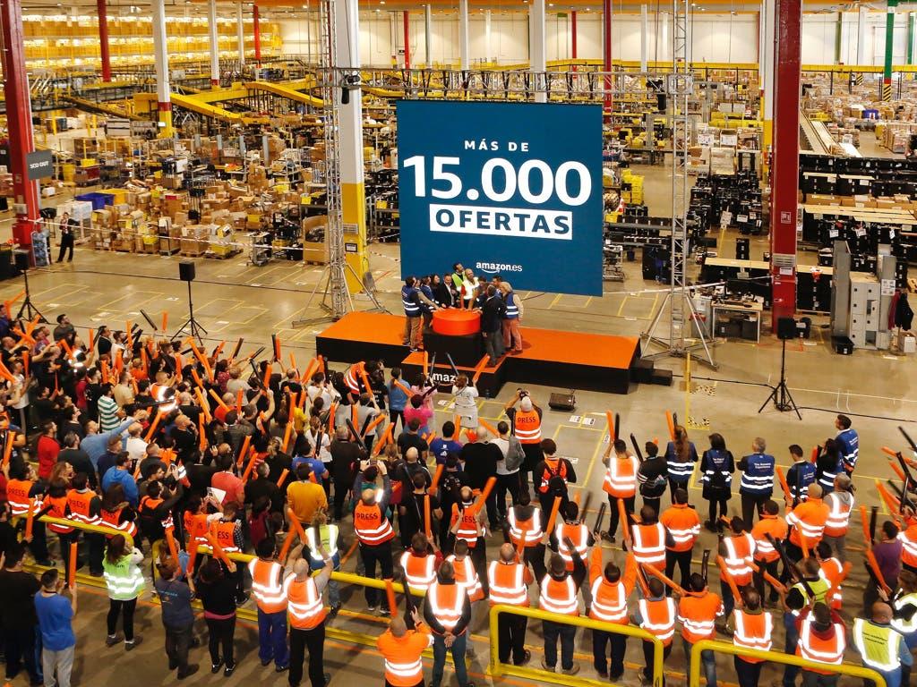Amazon da el pistoletazo de salida al Black Friday en San Fernando