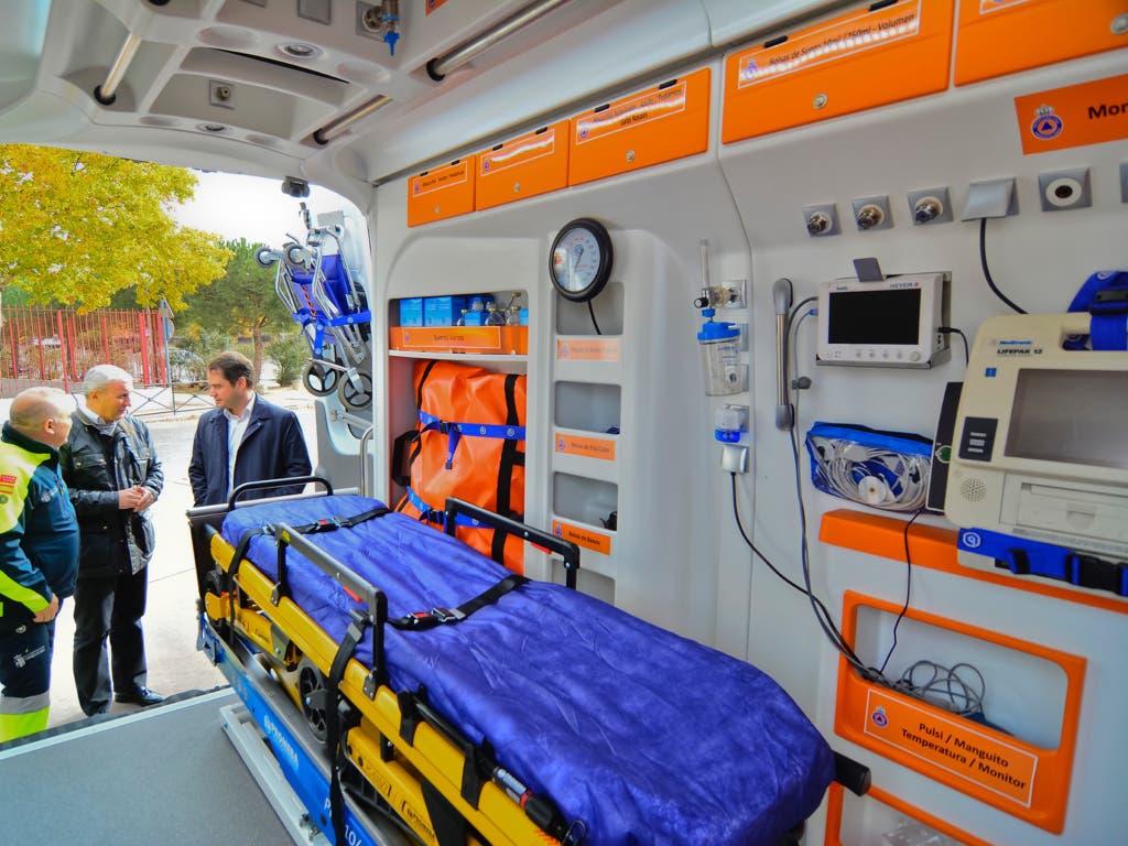 Torrejón cuenta con una nueva ambulancia municipal