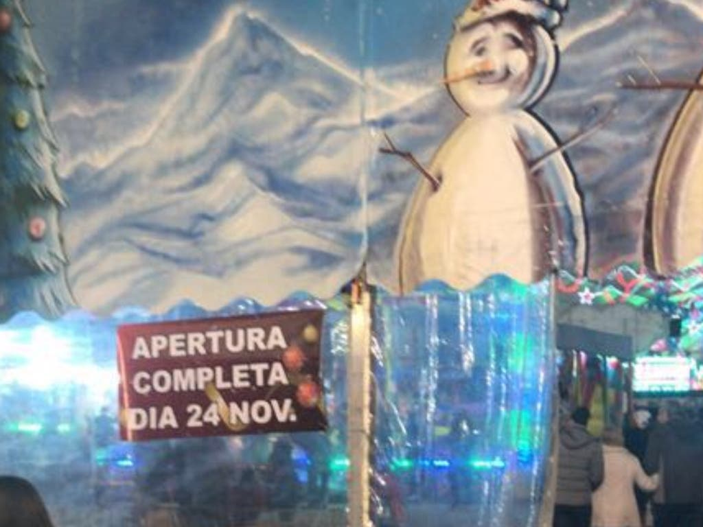 Alcalá, Ciudad de la Navidad decepciona en su estreno