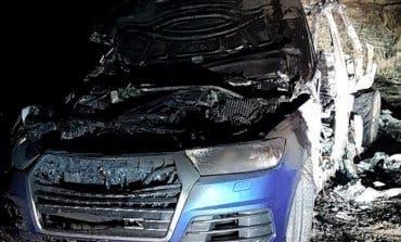 Se busca a la banda que dejó quemado un Audi en Arganda tras un tiroteo