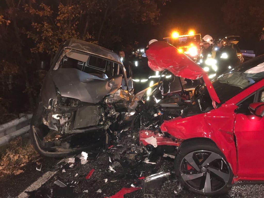 Cuatro heridos en un accidente de tráfico en Madrid