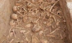 Los 90 cráneos humanos hallados en Madrid serán conservados en Alcalá de Henares