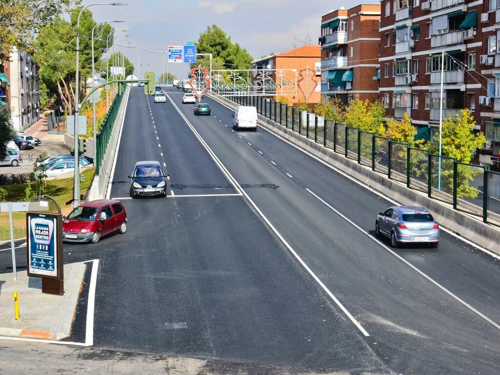 Torrejón inaugura el cuarto carril del Puente de Fronteras
