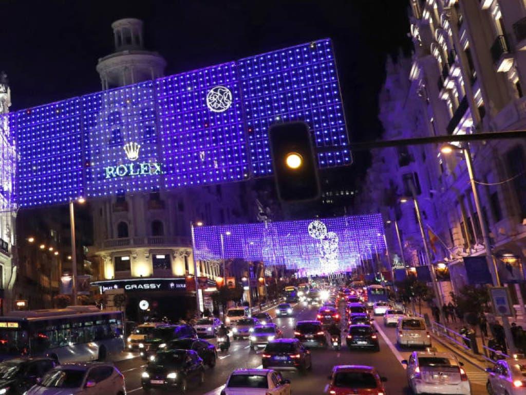 Guía para moverte por el centro de Madrid en Navidad