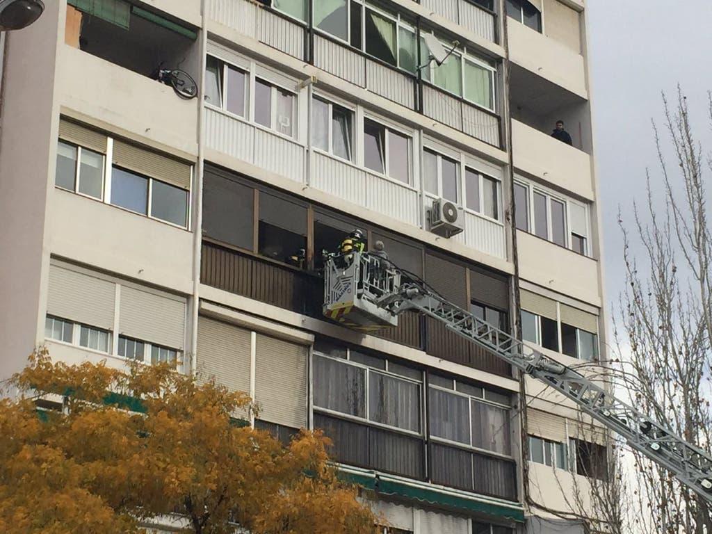 Una mujer fallecida y varios heridos en un incendio en Madrid
