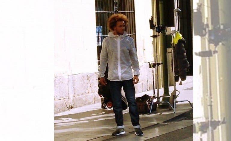 Marcelo Vieira rueda un spot en Alcalá de Henares