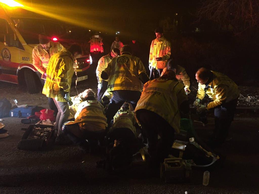 Mueren dos motoristas en dos accidentes distintos en Madrid