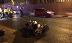 Muere un motorista tras sufrir un accidente en Madrid