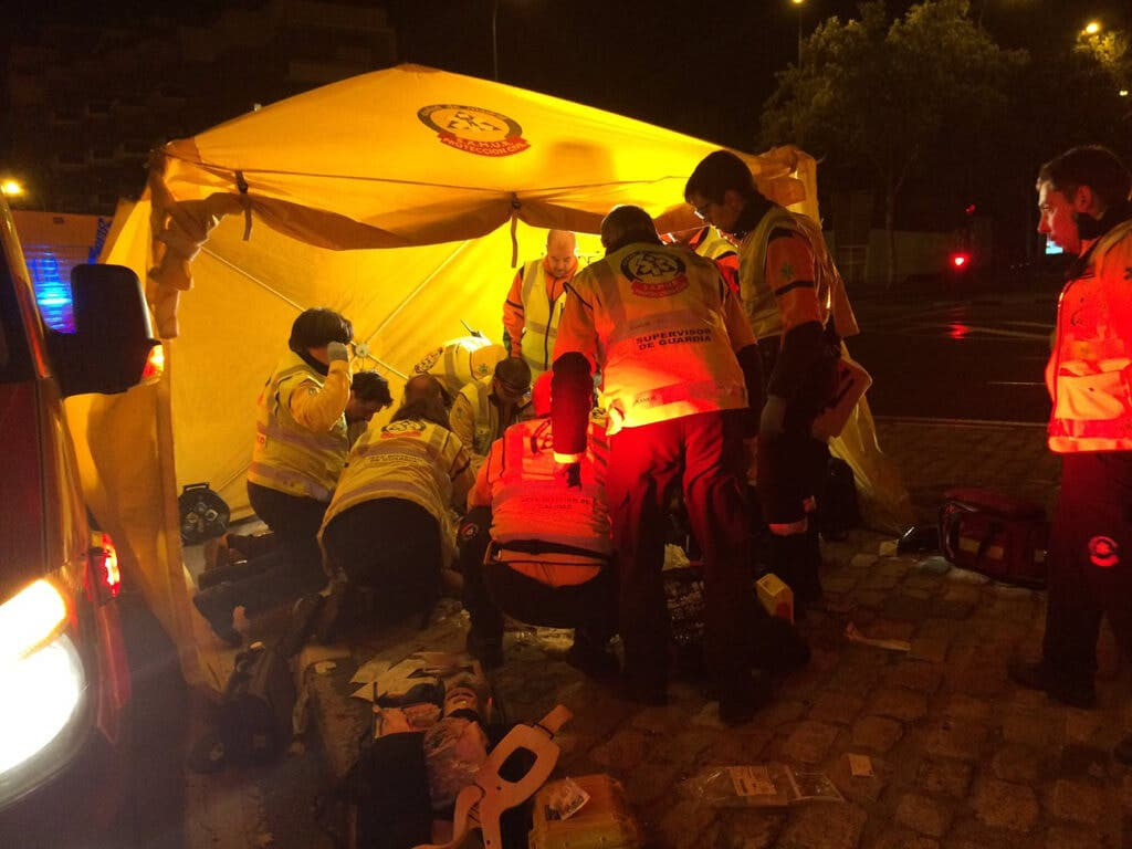 Muere un joven de 26 años en un accidente de moto en Madrid