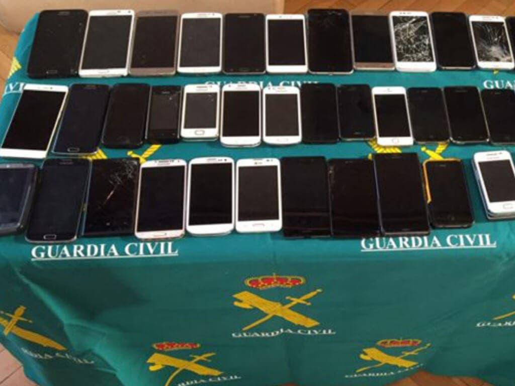 Cae la banda búlgara que robaba móviles en fiestas de Madrid