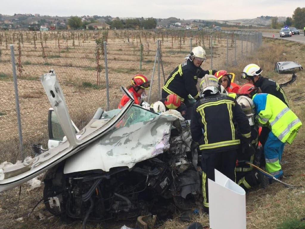 Muere un hombre de 78 años en un accidente en la M-318