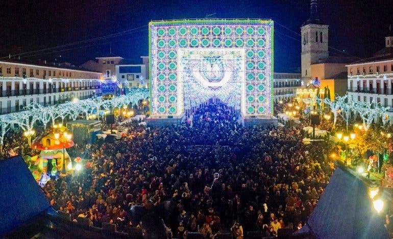 Miles de personas han disfrutado ya de la Puerta Mágica en Torrejón