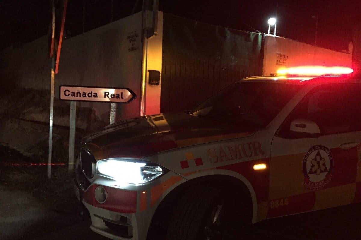 Muere un hombre apuñalado en la Cañada Real