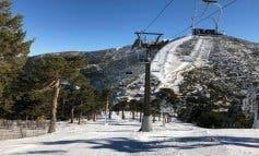 Comienza la temporada de esquí en el Puerto de Navacerrada