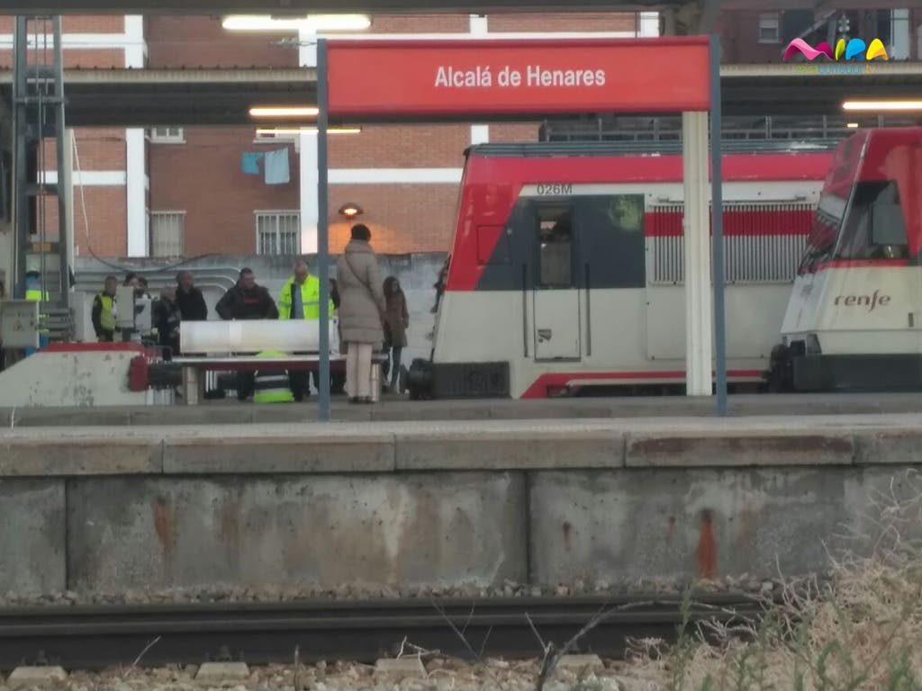 accidente tren alcala