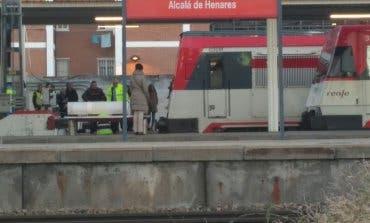 El accidente de tren en Alcalá de Henares, en imágenes