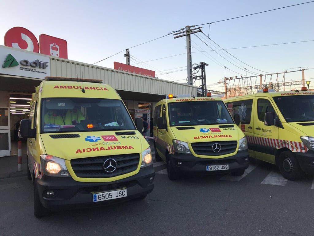 Reciben el alta los dos heridos graves del accidente de tren en Alcalá de Henares