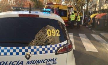 Herida grave una mujer tras ser atropellada en Madrid