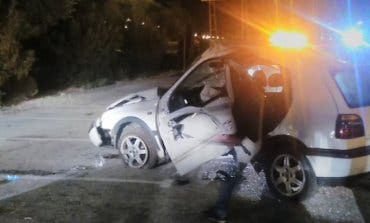 Herido grave un joven en un accidente en Azuqueca de Henares
