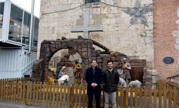 Torrejón acoge un Portal de Belén único e histórico