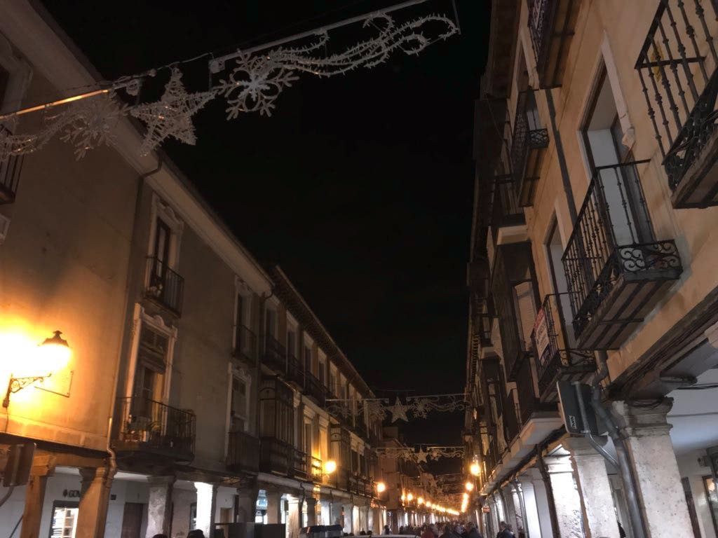 Apagón navideño en el centro de Alcalá de Henares por «motivos técnicos»