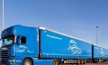 Llega a Meco el camión en circulación más grande de España