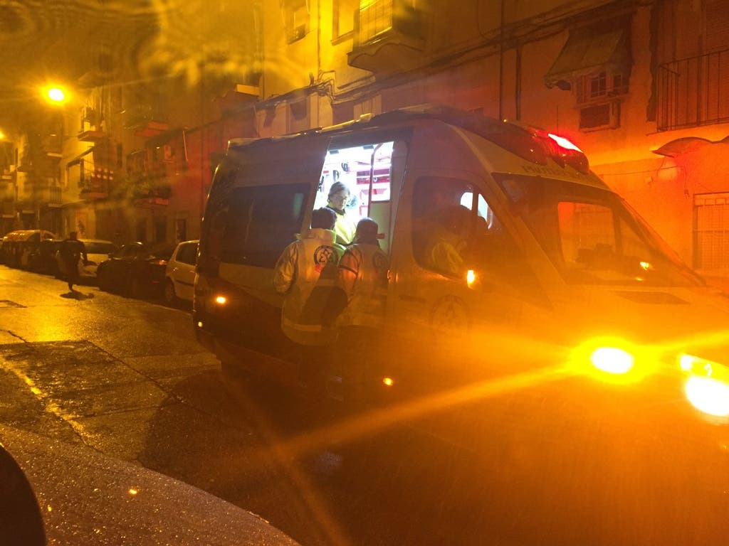 Detenido por apuñalar a tres personas en Madrid