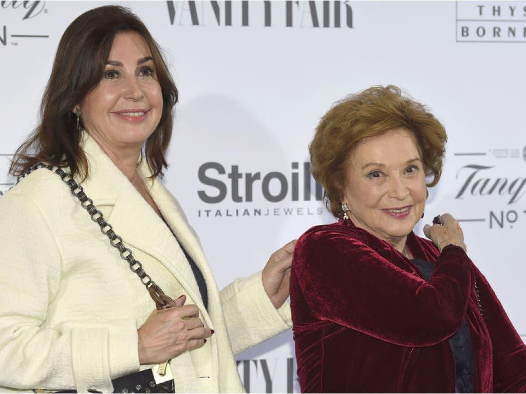 Muere en Madrid la hija de Franco a los 91 años de edad