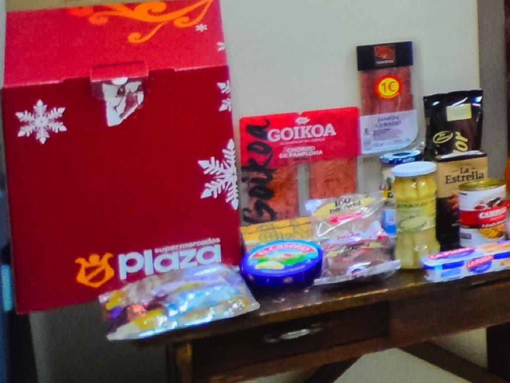 Torrejón reparte 500 cestas navideñas entre las familias más necesitadas