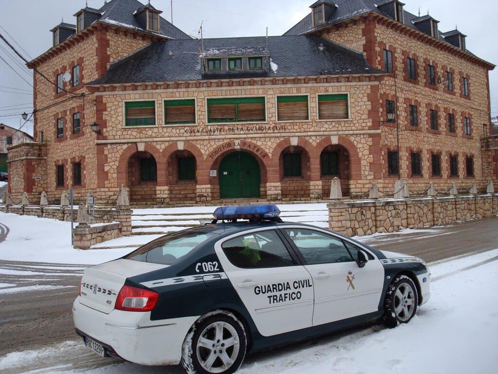 Un pueblo de Guadalajara registra la temperatura más baja de España: -15,3 °C
