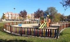 Alcalá de Henares mejora varias áreas infantiles