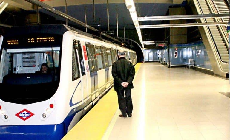 Interrumpido el Metro de Arganda por segunda vez esta semana