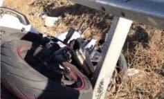 Muere un motorista de 25 años en un accidente en San Fernando de Henares