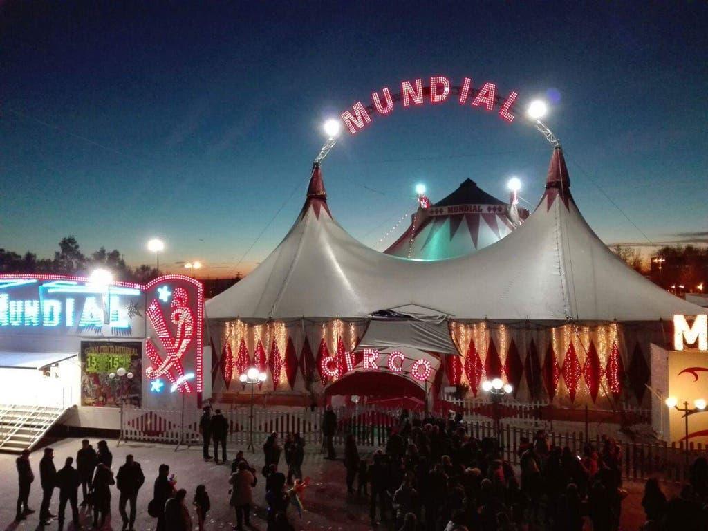 Huelga en el Gran Circo Mundial, instalado en Torrejón