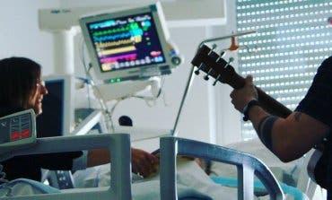 La música como terapia en la UCI del Hospital de Torrejón