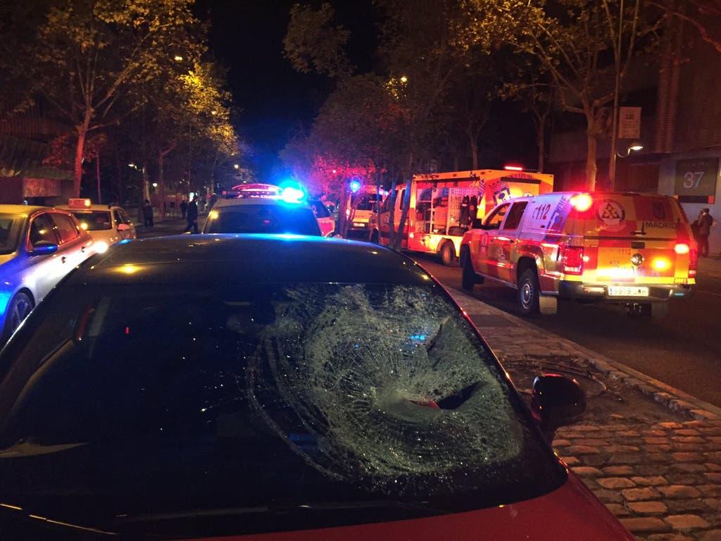 Un joven es atropellado tras una pelea en el centro de Madrid