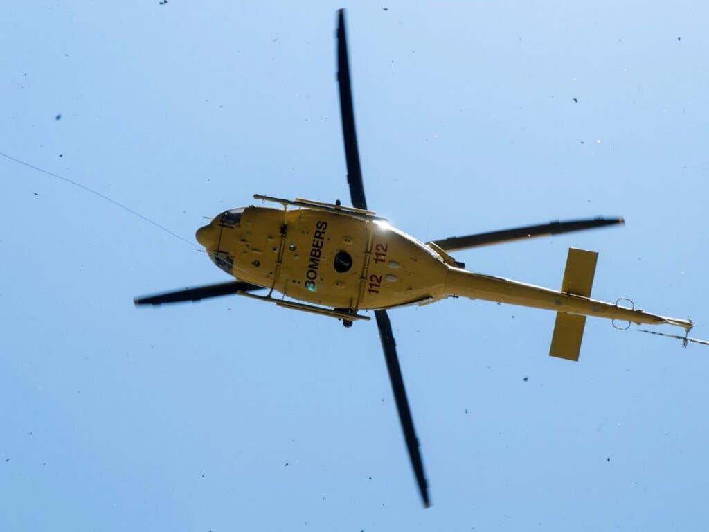 Rescatan a dos montañeros de Madrid y Guadalajara, atrapados a 150 metros de altura