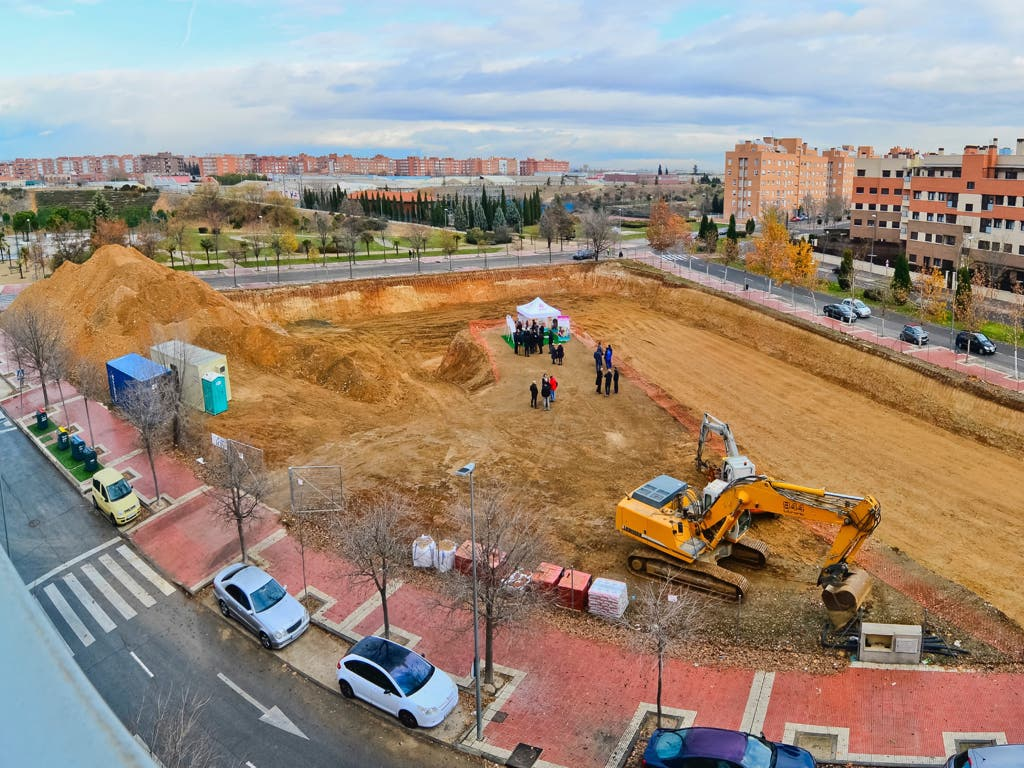 As ser la nueva residencia de ancianos de torrej n for Residencia torres de la alameda