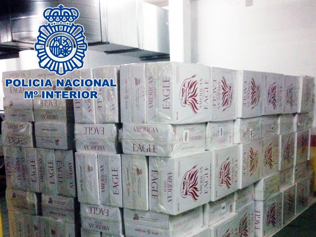 Detenidos por robar en Madrid 120.000 paquetes de tabaco