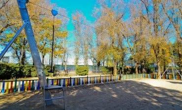 Torrejón instala una tirolina en el Parque Veredillas