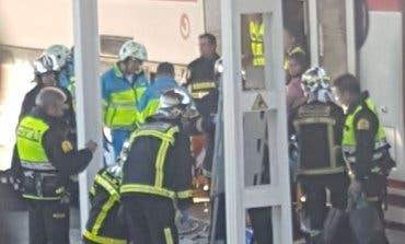 El accidente de tren en Alcalá deja dos heridos graves y once moderados