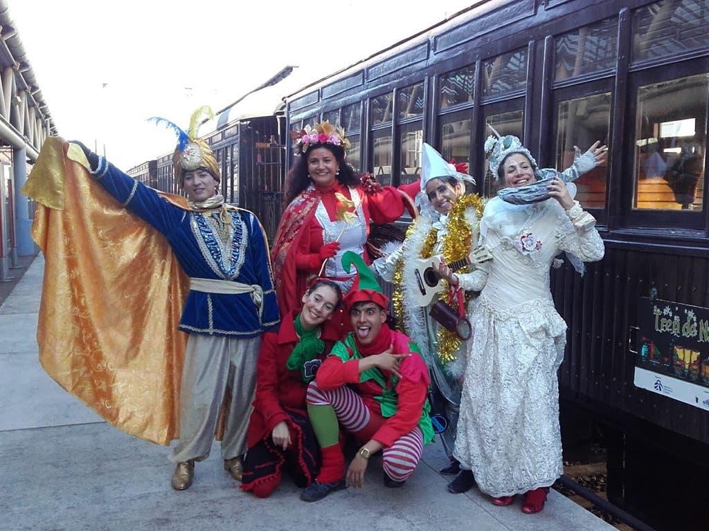 Vuelve el Tren de Navidad con el Paje Real y los Reyes Magos